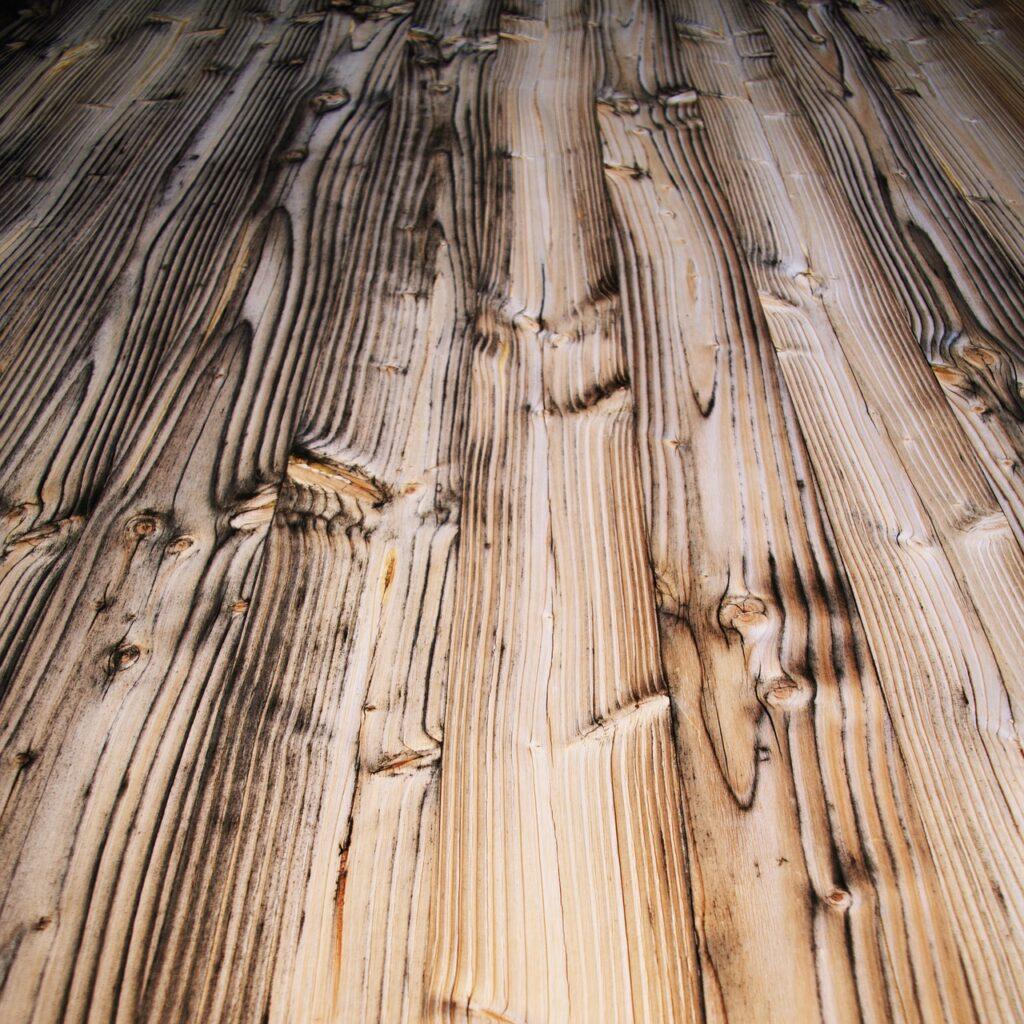 wood floor, floor planks, spruce